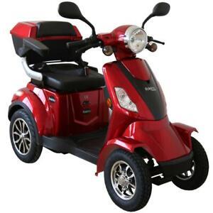 Rolektro E-Quad 15, Rot, 1000 Watt Elektromobil Elektroroller 15 km/h 1000W