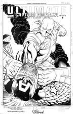 Ultimate: Captain America #1 Marvel 2011 (Original Art) Cover - Ed McGuinness