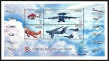 INDIA 2007 Indian Air Force IAF Helicopter Fighter Jet Miniature sheet MNH