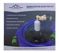 UNIVERSAL Mains Water Adaptor with 10m food grade hose