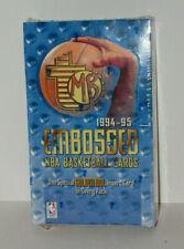 1994-95 Topps Embossed Basketball Sealed Box Possible Jordan Gold