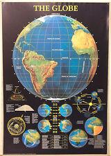 (PRL) 2001 THE EARTH GLOBE IL GLOBO TERRESTRE IL MONDO AFFICHE POSTER ART PRINT