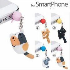 Cute Cat Design 3.5mm Universal Dust Plug Earphone Jack Plug Headset Stopper Cap