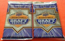 2x 2009-10 UD Basketball Draft Edition Pack (Stephen Curry Rookie Jordan Auto)?