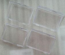 More details for hinged plastic trading card storage boxes - lot's of 5's or 10's storage boxes