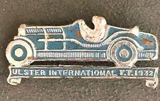 More details for ulster international tt 1932  lapel pin badge