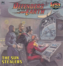 1986 Golden Book Defenders of the Earth Children's Book -- The Sun Stealers