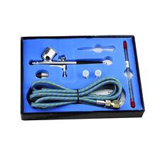 0.3 mm double action brosse Pistolet Kit Aérographe aiguille Nail Art Peinture Outil Nouveau