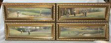 Framed Wall Art Prints Pictures Golf Series Set Of 4 Uttermost 7095 Sports