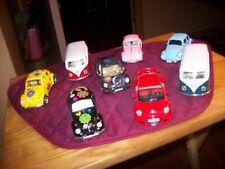 Kinsmart  Volkswagen  Diecast Model Toy Cars ( Lot Of 7)