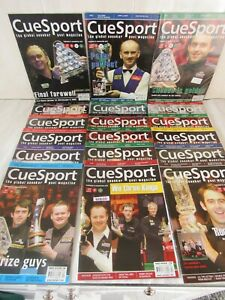 """CUESPORT–Global SNOOKER & POOL magazine"" Sold Individually, Multi-Buy DISCOUNTS"
