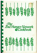 *HOUSTON TX 1986 FRIENDS OF *END HUNGER NETWORK COOK BOOK *VINTAGE TEXAS RECIPES