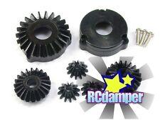 HARD STEEL REAR DIFFERENTIAL BEVEL GEAR 7PC TAMIYA CC01 CC-01 XC01 DIFF AXLE BOX
