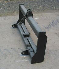 New 3 Point Hitch Attachment For Skidsteer Quick Attach Free Ship!