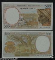 ECCAS Congo Banknote (C) 500 Francs UNC
