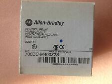 ALLEN BRADLEY 700DC-M400Z2S 220V CONTROL RELAY  700DCM400Z2S