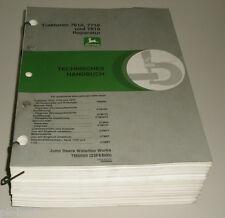 Werkstatthandbuch John Deere Traktor 7610 / 7710 / 7810 Stand 02/2000