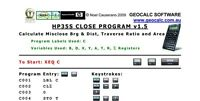 HP35S Surveying Software Program Suite for the HP 35S Scientific Calculator