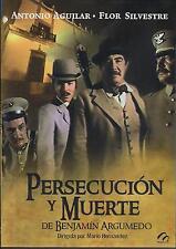 Persecucion Y Muerte De Benjamin Argumedo DVD NEW Antonio Aguilar Factory Sealed