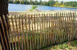 Staketenzaun Haselnuss Gartenzaun Zäune auch imprägniert 50, 60,80,90,100,120 cm