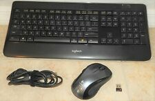 Logitech Wireless K800 Keyboard & Wireless Performance MX Mouse with Receiver