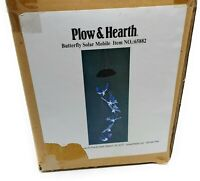 Plow & Hearth Butterfly  Solar Mobile Item No 65882