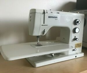 Vintage Bernina Record 830 Sewing Machine Cased FootPedal Booklet. SEE VIDEO