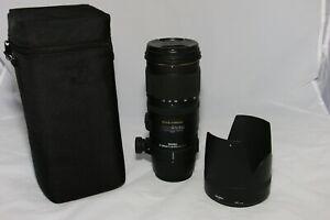 Sigma EX 70-200mm f/2.8 DG APO HSM Macro Lens for Canon