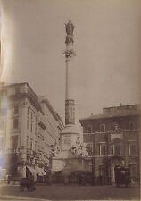 Rome Roma Italie Italia Tirage albuminé ca 1880