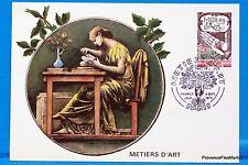 METIERS D ARTS   FRANCE  Carte Postale Maximum FDC Yt C 2013