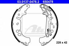 Bremsbackensatz für Bremsanlage Hinterachse ATE 03.0137-0478.2