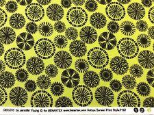 Benatex - Origins By Jennifer Young P797 Lime Green - 100% Cotton
