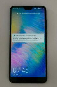 Huawei P20 - 128GB - Schwarz  / Ohne Simlock / Top Zustand Zubehörpaket