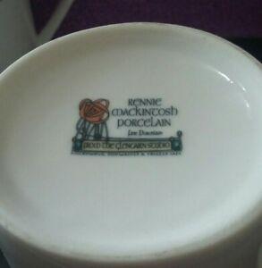 Glencairn Studio Rennie Mackintosh Porcelain Mug Made in Scotland Collectable