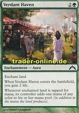 4x Verdant Haven (Blühende Zuflucht) Gatecrash Magic