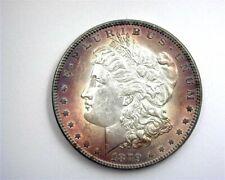 1879 MORGAN SILVER DOLLAR GEM UNCIRCULATED IRIDESCENT TONING!!