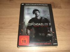 The Expendables 2 Back for War Limited Edition Blu-Ray Steelbook + Stoff-Banner