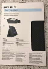 Belkin Slim Folio Stand Case for Samsung Galaxy Tab 10.1 Blue/Black New
