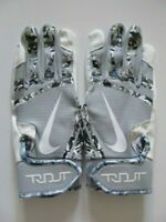 Nike Trout Edge Batting Gloves Cool Grey/White Youth Large