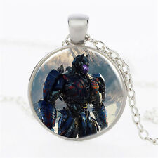The transformers Necklace Dome Pendant Cabochon Glass Necklace  DD  +     626