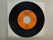 """THEE SAINTS & PRINCE OF DARKNESS: Hey Girl-Running-U.S. 7"""" 65 Champ Records 2006"""