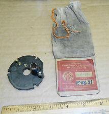 New Vintage Fairbanks Morse Magneto Distributor End Plate K4631