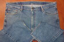 Levis 505 Blue Wash Denim Jeans 42x30