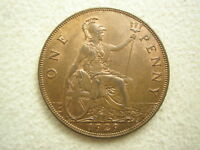 GREAT BRITAIN UK England Penny 1929 UNC George V