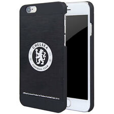 NEW OFFICIAL CHELSEA FC ALUMINIUM 4.7 IPHONE 6 6S FOOTBALL CASE HARD COVER BLACK