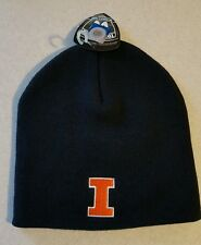 NWT Top of the World Adult ILLINOIS FIGHTING ILLINI Knit Cap WINTER Hat #150216