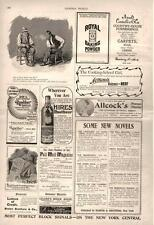 Hires Rootbeer  -  Two Advertisements   -  Charles E. Hires Company   -   1897