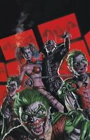 Batman Who Laughs #1 BUY ME TOYS Virgin VARIANT NM+ FREE Ship Fast Ship