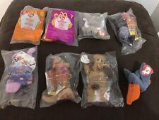 Beanie Babies Toys Bears Bundle Job Lot of 8 Ty Beanies Mcdonalds 1993 Winnie