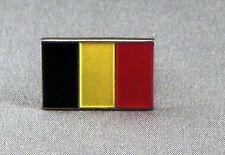 Metal Enamel Pin Badge Brooch Flag Belgium Belgique National Flag